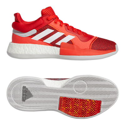 adidas Marquee Boost Low Shoes Carbon 12.5 Mens from Adidas