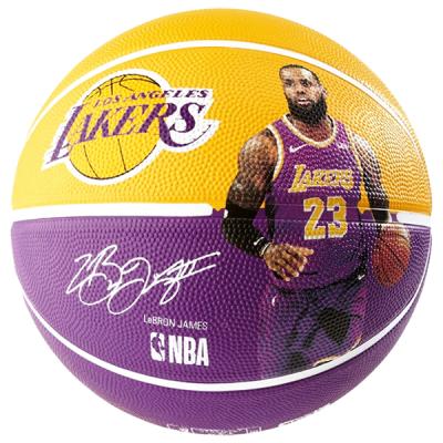 Lebron James LA Lakers Spalding Basketball
