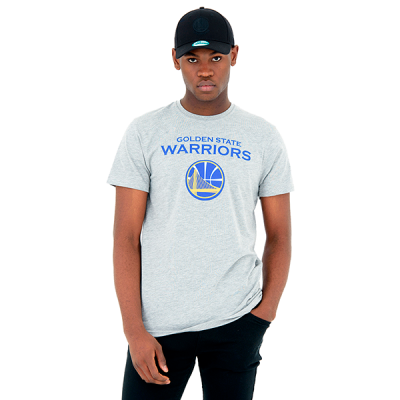 New Era NBA Golden State Warriors Logo Tee