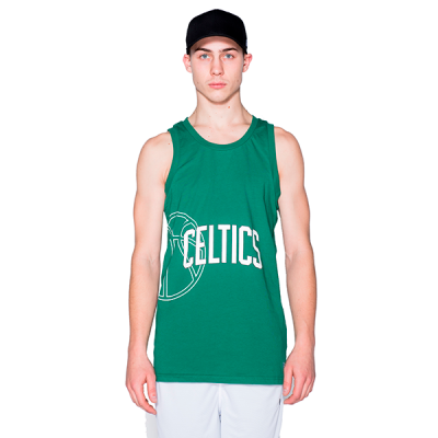 New Era NBA Boston Celtics Logo Green Tank