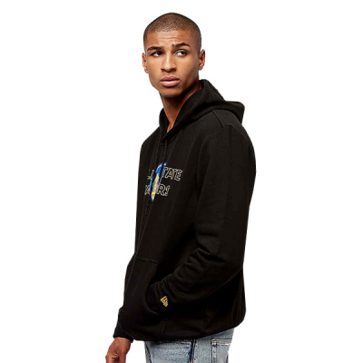 New Era NBA Golden State Warriors Overlap Hoodie