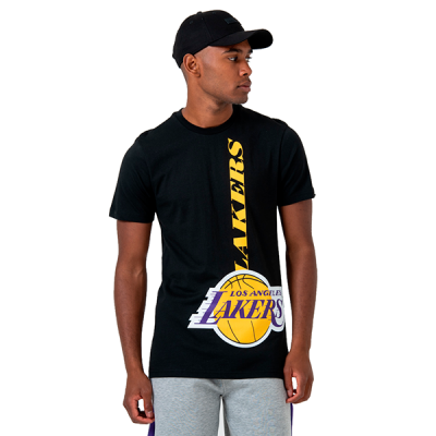 New Era NBA LA Lakers Wordmark Logo T-Shirt