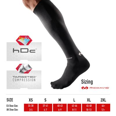 McDavid Elite Recovery Compression Socks