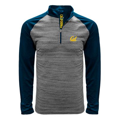 Levelwear NCAA Vandal Quarter Zip California Golden Bears Shirt