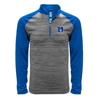 Levelwear NCAA Vandal Quarter Zip Duke Blue Devils Shirt