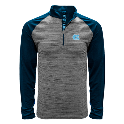 Levelwear NCAA Vandal Quarter Zip North Carolina Tar Heels Shirt