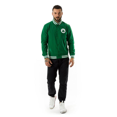 New Era Boston Celtics Pop Logo Varsity Jacket