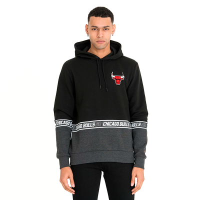 New Era Chicago Bulls Colour Block Hoodie
