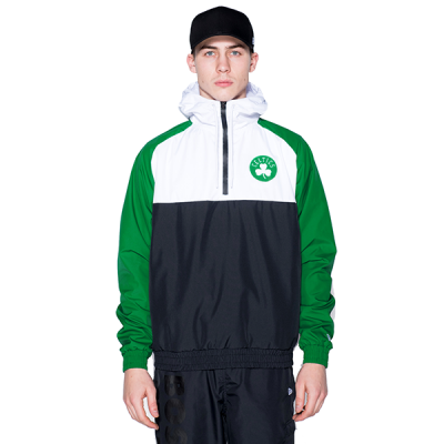 New Era NBA Boston Celtics Hooded Windbreaker Jacket
