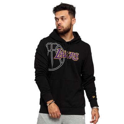 New Era NBA LA Lakers Graphic Basketball Hoody