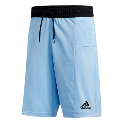 adidas Sport 3-Stripes Glow Blue Shorts