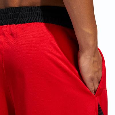 adidas Sport 3-Stripes Red Shorts