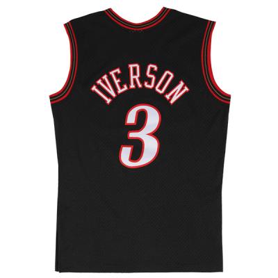 Allen Iverson 2000-01 Philadelphia 76ers Mitchell & Ness Soul Swingman Jersey