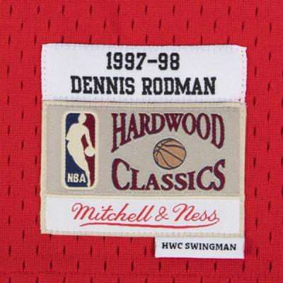 Dennis Rodman 1997-98 Chicago Bulls Mitchell & Ness Soul Swingman Jersey