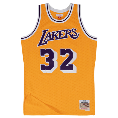 Magic Johnson 1984-85 LA Lakers Mitchell & Ness Soul Swingman Jersey