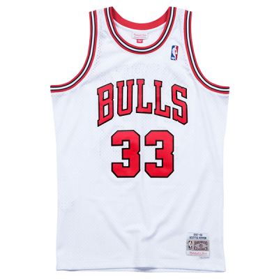Scottie Pippen 1997-98 Chicago Bulls Mitchell & Ness Soul Swingman Jersey
