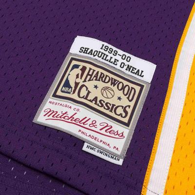 Shaquille O'Neal 1999-00 LA Lakers Mitchell & Ness Soul Swingman Jersey