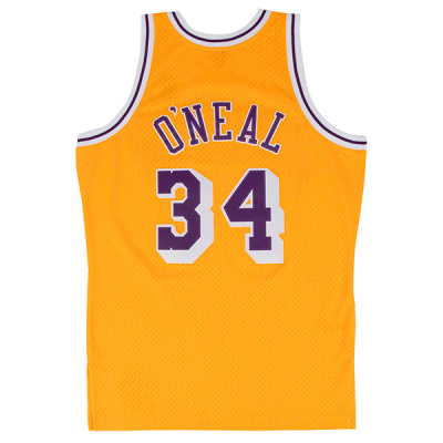 Shaquille O'Neal 1996-97 LA Lakers Mitchell & Ness Soul Swingman Jersey