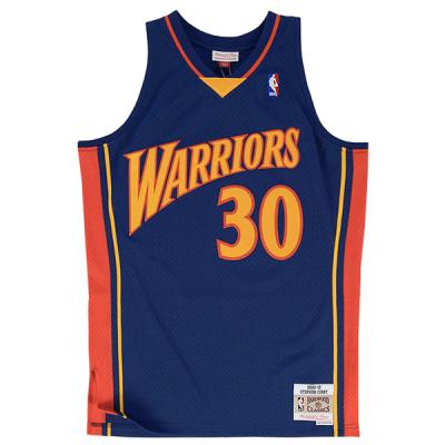 Stephen Curry 2009-10 Golden State Warriors Mitchell & Ness Soul Swingman Jersey