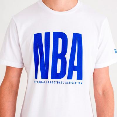 New Era NBA Wordmark Tee