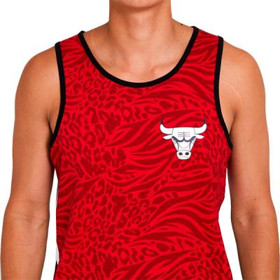 New Era NBA Chicago Bulls All Over Print Tank
