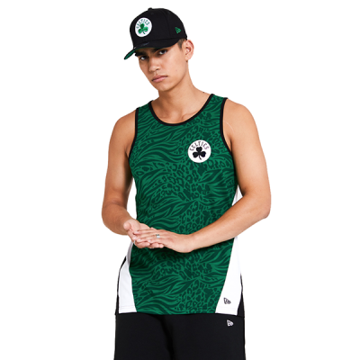New Era NBA Boston Celtics All Over Print Tank