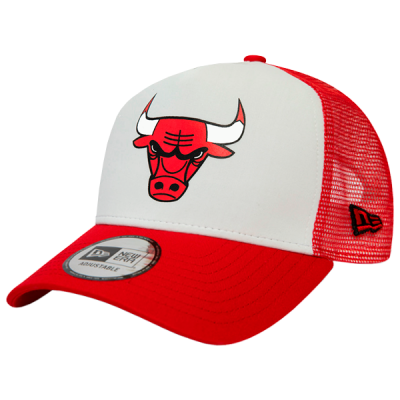 Boné New Era Chicago Bulls Team Color Block 9FORTY A-Frame Trucker