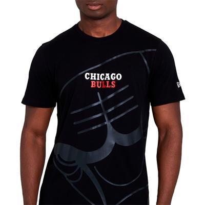 New Era NBA Chicago Bulls Big Logo T-Shirt