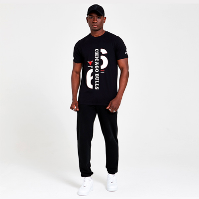 New Era Chicago Bulls Established Graphic T-shirt | 1966