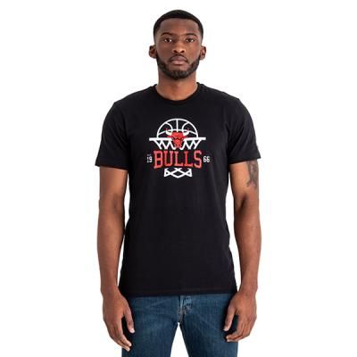 New Era Chicago Bulls League Net Logo Tee