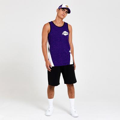 New Era NBA Los Angeles Lakers All Over Print Tank