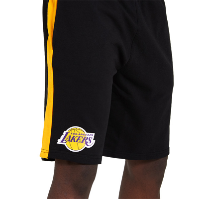 NBA Los Angeles Lakers New Era Contrast Shorts