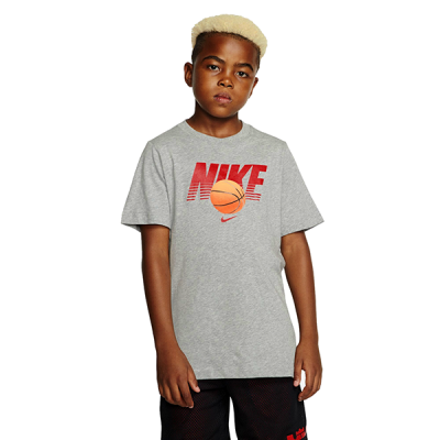 Nike Kids Straight Baller Textured Graphic Tee