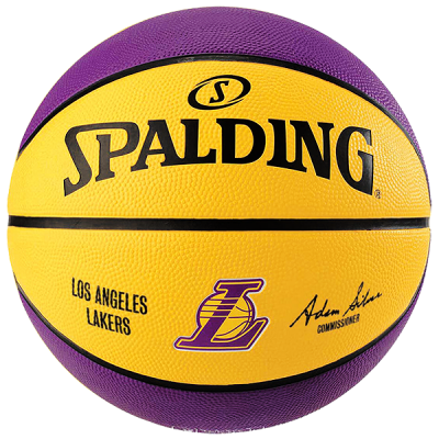 Spalding NBA Los Angeles Lakers Ball