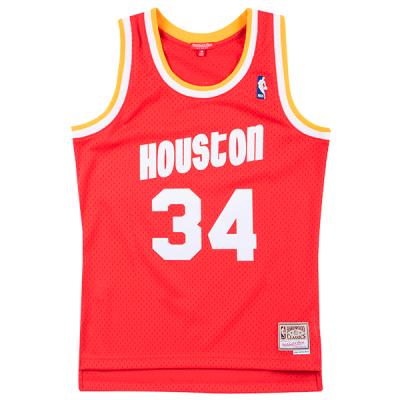 Camisola Mitchell & Ness Soul Swingman Hakeem Olajuwon | Houston Rockets 1993-94