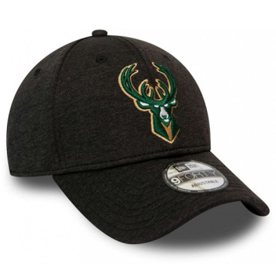 New Era NBA Milwakee Bucks Shadow Tech 9Forty Strapback Cap