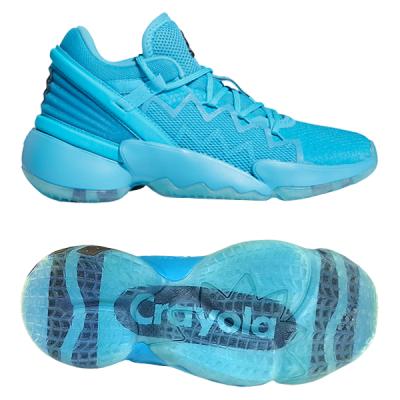 adidas D.O.N. Issue #2 Jr | Crayola Sky Blue