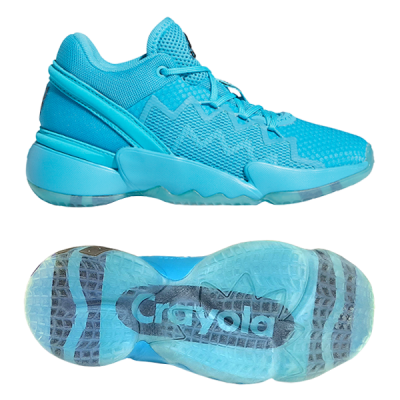 adidas D.O.N. Issue #2 K | Crayola Sky Blue