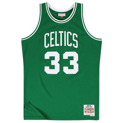 Larry Bird 1985-86 Boston Celtics Mitchell & Ness NBA Swingman Jersey