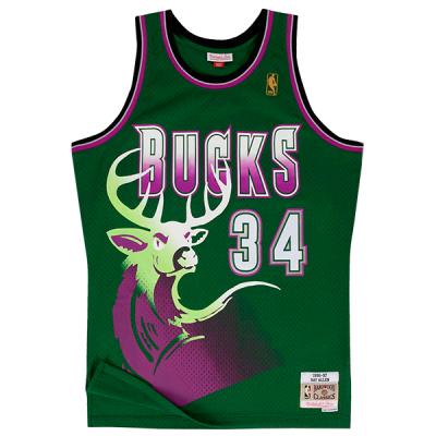 Ray Allen 1996-97 Milwaukee Bucks Mitchell & Ness Swingman Jersey