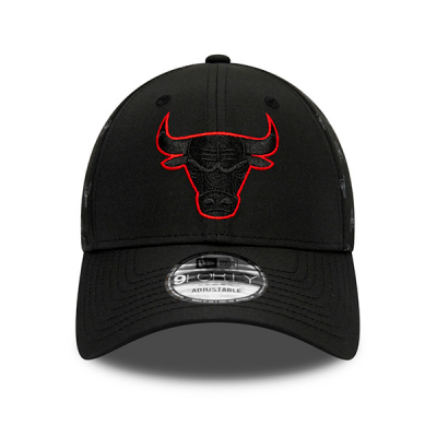New Era Chicago Bulls NBA Nylon Black 9FORTY Cap