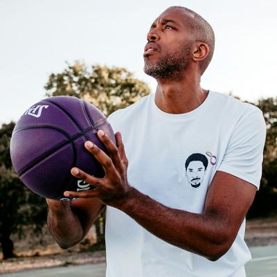 Kobe Bryant - Black Mamba Heart T-shirt