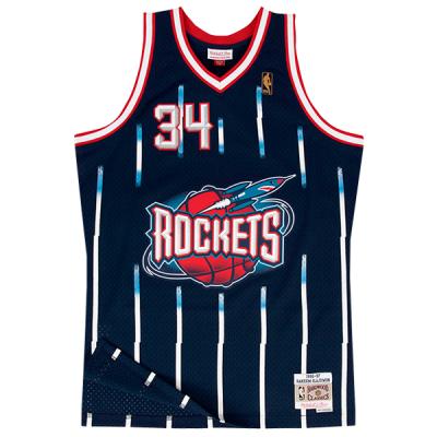 Hakeem Olajuwon Mitchell & Ness Soul Swingman Jersey | Houston Rockets 1996-97