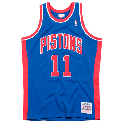 Isiah Thomas Mitchell & Ness Soul Swingman Jersey | Detroit Pistons 1988-89