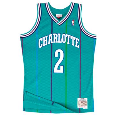 Larry Johnson Mitchell & Ness Soul Swingman Jersey | Charlotte Hornets 1992-93