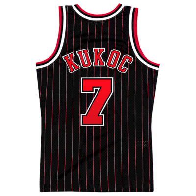 Toni Kukoc Mitchell & Ness Soul Swingman Jersey   Chicago Bulls 1995-96