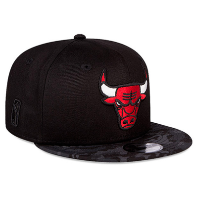 New Era Chicago Bulls Supporters Camo Cap | 9FIFTY