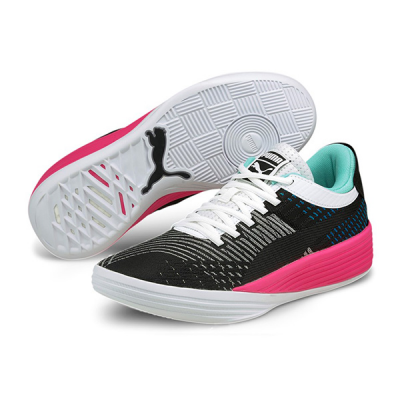 PUMA Clyde All-Pro | Black - Luminous Pink