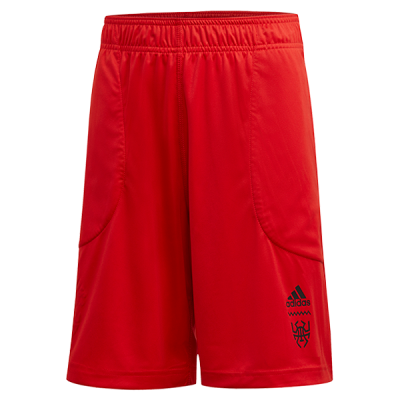 adidas Donovan Mitchell DON Issue #2 Reversible Red Shorts