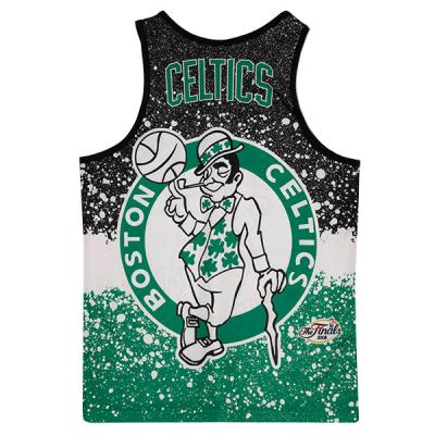 Mitchell and Ness Jumbotron Sublimated Tank | Boston Celtics